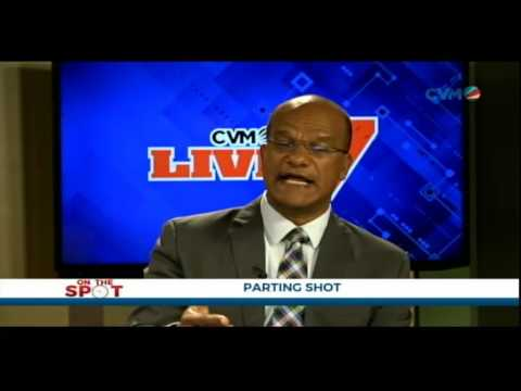 CVMTV LIVE AT 7 -- PETER BUNTING