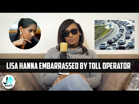 Lisa Hanna EMBARRASSED By Toll Operator   Vybz Kartel Fans Calls it Karma