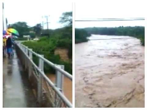 """Maypen Jamaica Flood Water """"WASH AWAY"""" Her GRANNY .During Flooding"""