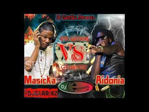 Aidonia vs Masicka 2017 Mix By @DjGarrikz (GenaSyde vs 4th Generation)