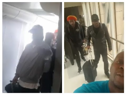 "Damian Marley ""DISRESPECTED"" By ""JOURNALIST Chiko lawi At Airport After Arriving In KENYA"""