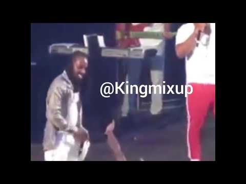 Mavado Attacked By Fans & Security Chokes Patrons