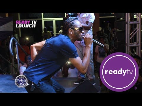 Bounty Killer Performing live at the Launch of READY TV 2017