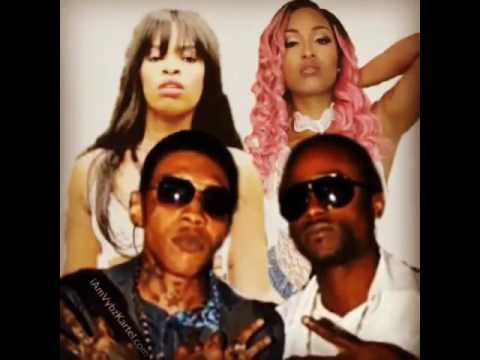 Vybz Kartel Ft. Double K, Shenseea, Shawn Storm & Wykel - A Suh She Stay - June 2017