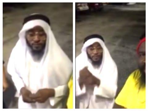 "Khago Wearing ""ARAB CLOTHING"" And Natty Sean Come Sidung Inna Mi Place ""VIDEO SHOOT"""