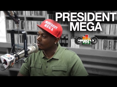 President Mega talks wanting to be a positive image in Dancehall + Bounty Killer as main influence