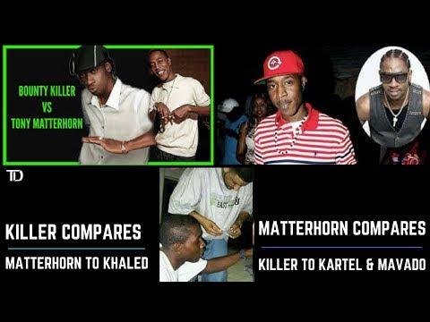 Bounty DISS Matterhorn comparing him to DJ KHALED, Tony Compares KILLER to KARTEL & MAVADO