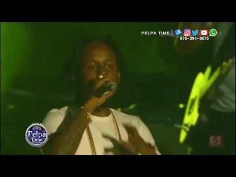 Popcaan Performance @ Reggae Sumfest July 2017