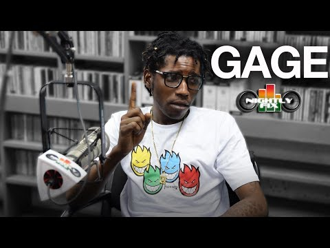 Gage talks discontinuing bleaching, hating 'Throat' + calls Chronixx a fool