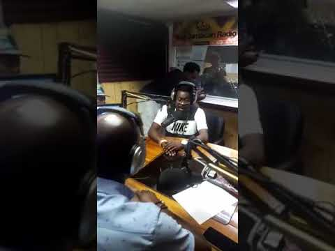 Beenie Man and Sean Kingston Interview on RJR radio plus freestyle July 18 2017