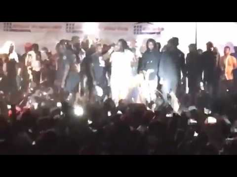 Mavado performance in Gambia crowd goes crazy May 13 2017