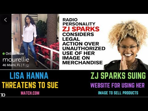Lisa Hanna found on Dating Site, threatens Lawsuit - ZJ Sparks Suing US Website for using Her Image