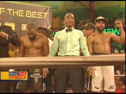 The First Semi Finalist for The Contender Series 2017 - TVJ Prime Time Sports - June 1 2017