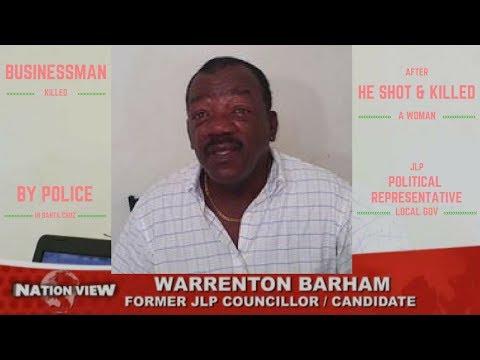 Businessman & Former JLP Candidate SHOT DEAD by COP after KILLING a WOMAN in Santa Cruz
