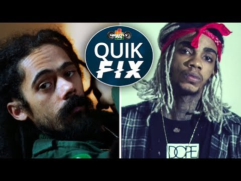 Jr. Gong endorses Alkaline? + Jimmy Cliff Grand Gala honour & Usain Bolt's last race | Quik Fix