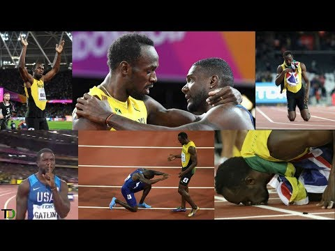 REACTIONS from around the WORLD to USAIN BOLT'S 100M Defeat to JUSTIN GATLIN in LONDON #WorldChamps