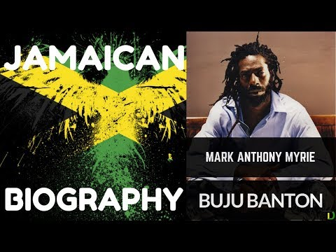 "Jamaican Biography - ""Mark Anthony Myrie"" (OC) ""Buju Banton"""