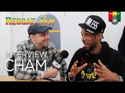 Cham Interview Reggae Jam 2017