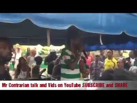 Sizzla deliver Message to Party Goers in Negril Jamaica