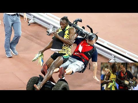 Usain Bolt and Yohan Blake vs  Andre De Grasse- Who is King ?