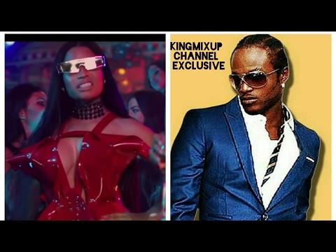 Nicki Minaj Ft Shawn Storm - No Frauds Popcaan Diss Track ( Unofficial) Refix Music Video