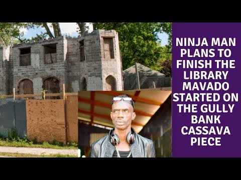 Ninja Man Plans to finish the Library Mavado started on the Gully Bank Cassava Piece