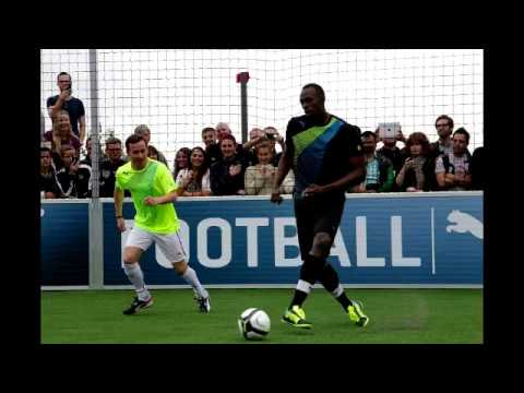 Usain Bolt To Play For Manchester United Against Barcelona