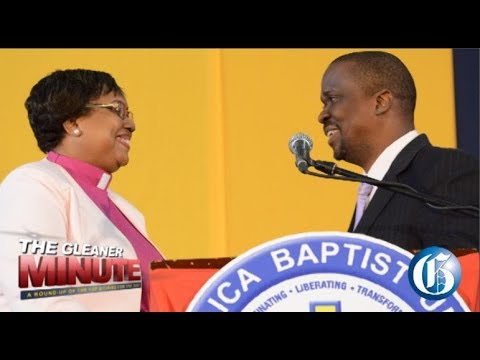 THE GLEANER MINUTE: Cane cutters protest…Woman church president…Lab techs strike…$127.67 for US$1