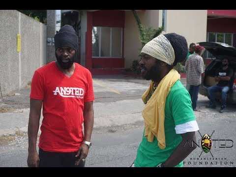 Bugle & I-Wayne Feed The Homeless in Kingston Jamaica