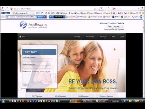 Zeekrewards - как давать рекламу.