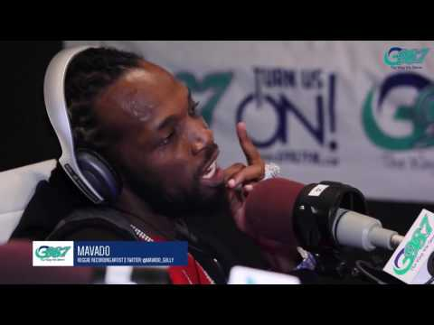 Mavado Gully God Interview In Toronto Canada gives credit to Bounty Killa G987FM June 25 2017