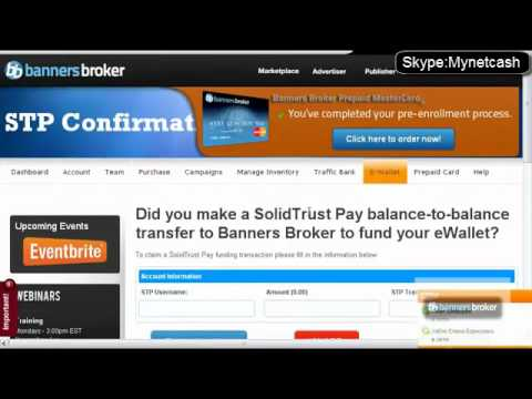 Banners Broker Электронный платеж STP