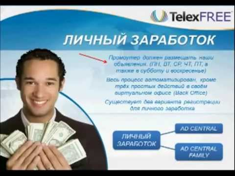 TelexFree - Доход 364% годовых + Безлимитная связь