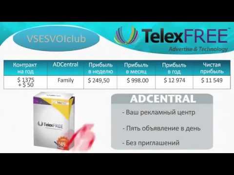 TelexFree - кратко за 10 минут  как зарабатывать в Телексфри