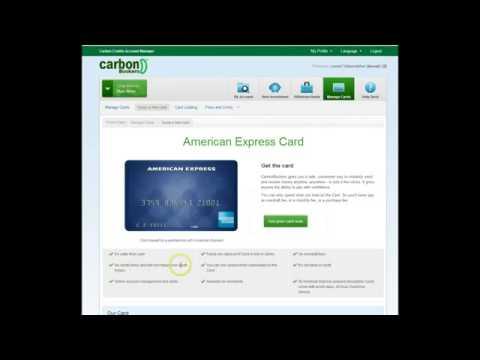 CarbonBookers  Как заказать карту AMEX