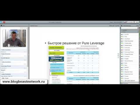 Pure Leverage-cегментация подписного листа и автоматизация.