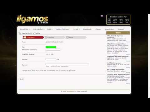 ILGAMOS   Перевод средств между аккаунтами
