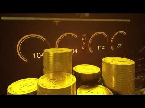 Aurum Gold Coin обеспеченная реальным золотом 10 мг