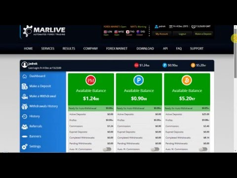 MARLIVE Automated Trading System (MATS)