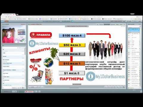 My1dollarbusiness: Заработок онлайн в интернет бизнесе дисконтного клуба