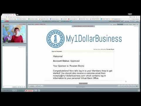 My1dollarbusiness: КАК ЗАРЕГИСТРИРОВАТЬСЯ В КОМПАНИИ