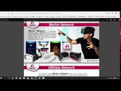 Merlim Network - как заработать на андроиде от 120$ в месяц!!!