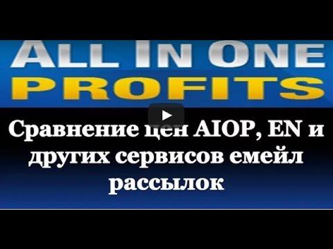 AIOP  Сравнение цен   Лучший сервис емейл рассылок  в Интернете
