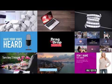 Drag and Drop Videos - интеллектуальный видео редактор