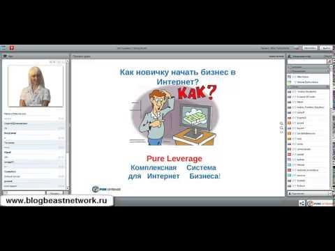 Pure Leverage - возможности бизнеса, презентация  4.12.2014 года.