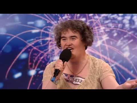 Britains Got Talent 2009 Susan Boyle First Performance