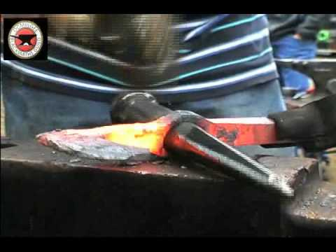 Railroad Spike Tomahawk Demo