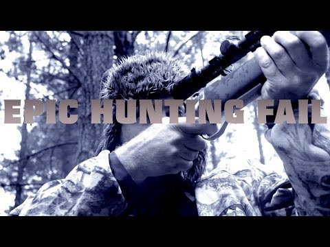 Epic gun safety hunting video
