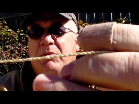 Making a Primitive Elk Sinew Bowstring