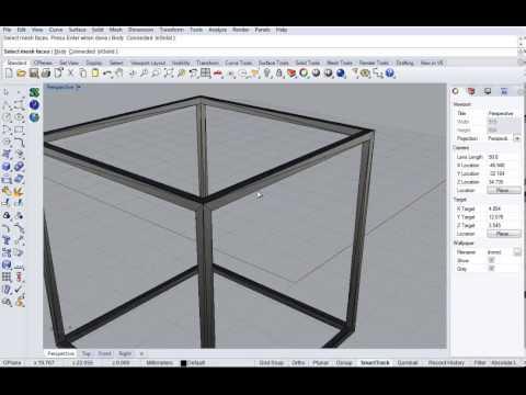 Simulation of 3D printed STL model